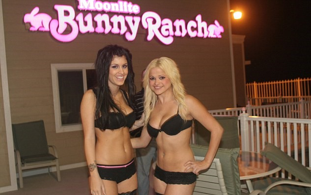 All the women at the brothel are contractors and manage their own time. Credit: Moonlite Bunny Ranch