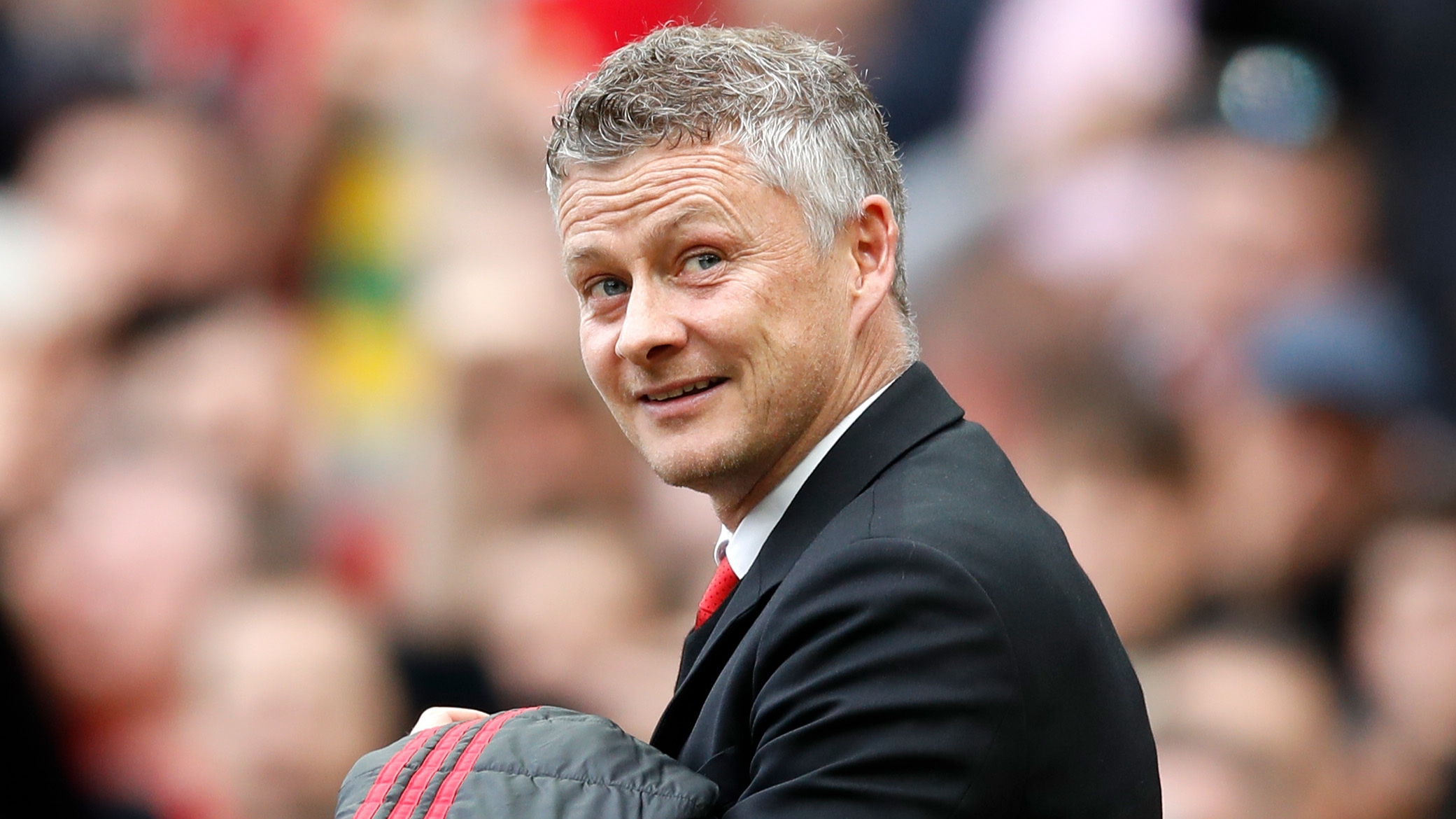 Can Solskjaer improve in his first full season in charge at United? Image: PA Images