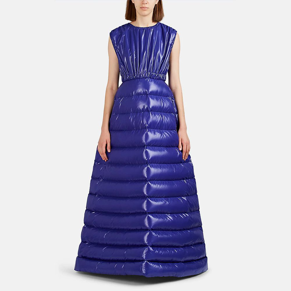 The dress is the perfect way to keep warm on your Christmas night out.(Credit: Moncler)