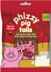 The sweets are being released to celebrate Chinese New Year. (Credit: M&S)