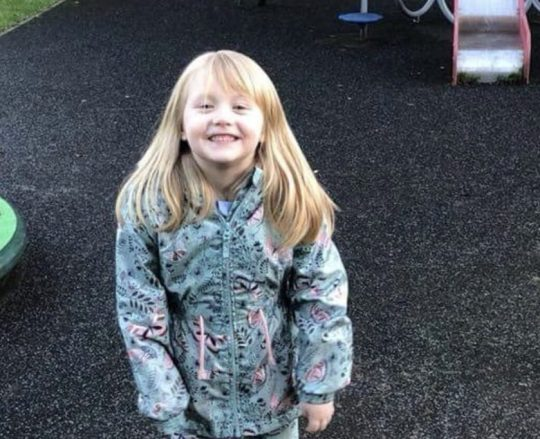 Alesha MacPhail had been staying with her grandparents for the school holidays. Credit: Facebook