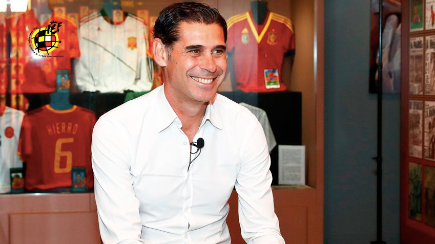 Spain Appoint Fernando Hierro As Their New Manager Ahead Of World Cup