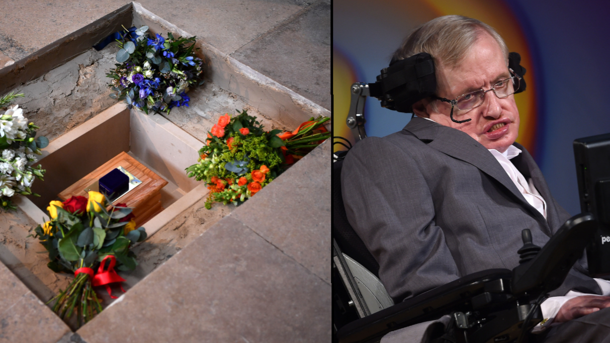 Stephen Hawking Laid To Rest Alongside Darwin And Newton