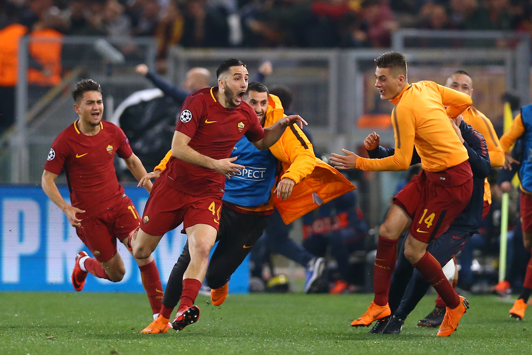 Klopp rubbishes thoughts of 'easy' Roma draw