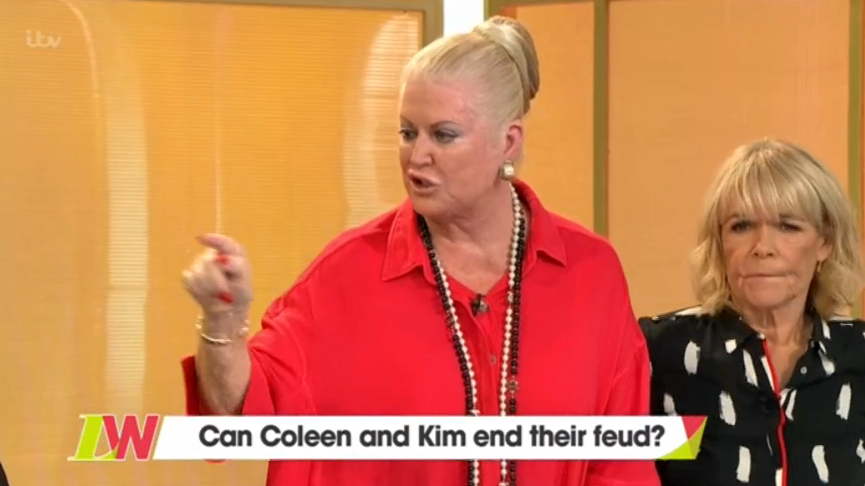 Kim Woodburn Storms Off Loose Women After Coleen Nolan Argument