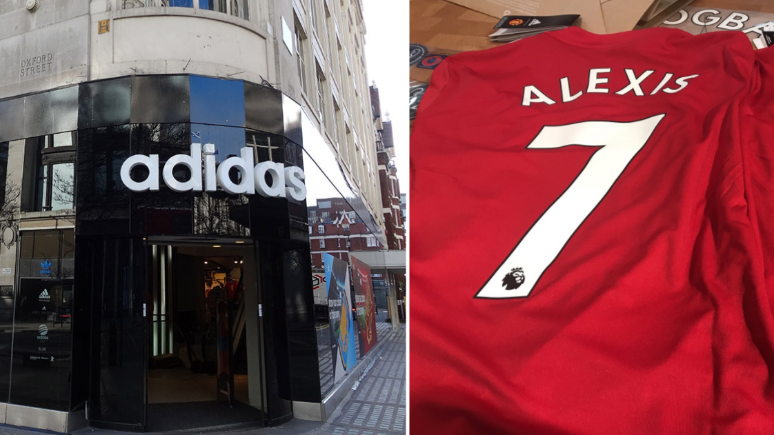 0e1df36d178 The Adidas Store In London Are Already Selling  Alexis Number 7  Shirts