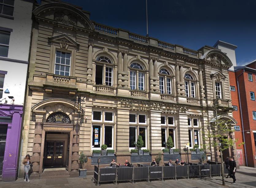 The Twelve Tellers in Preston. Credit: Google Maps