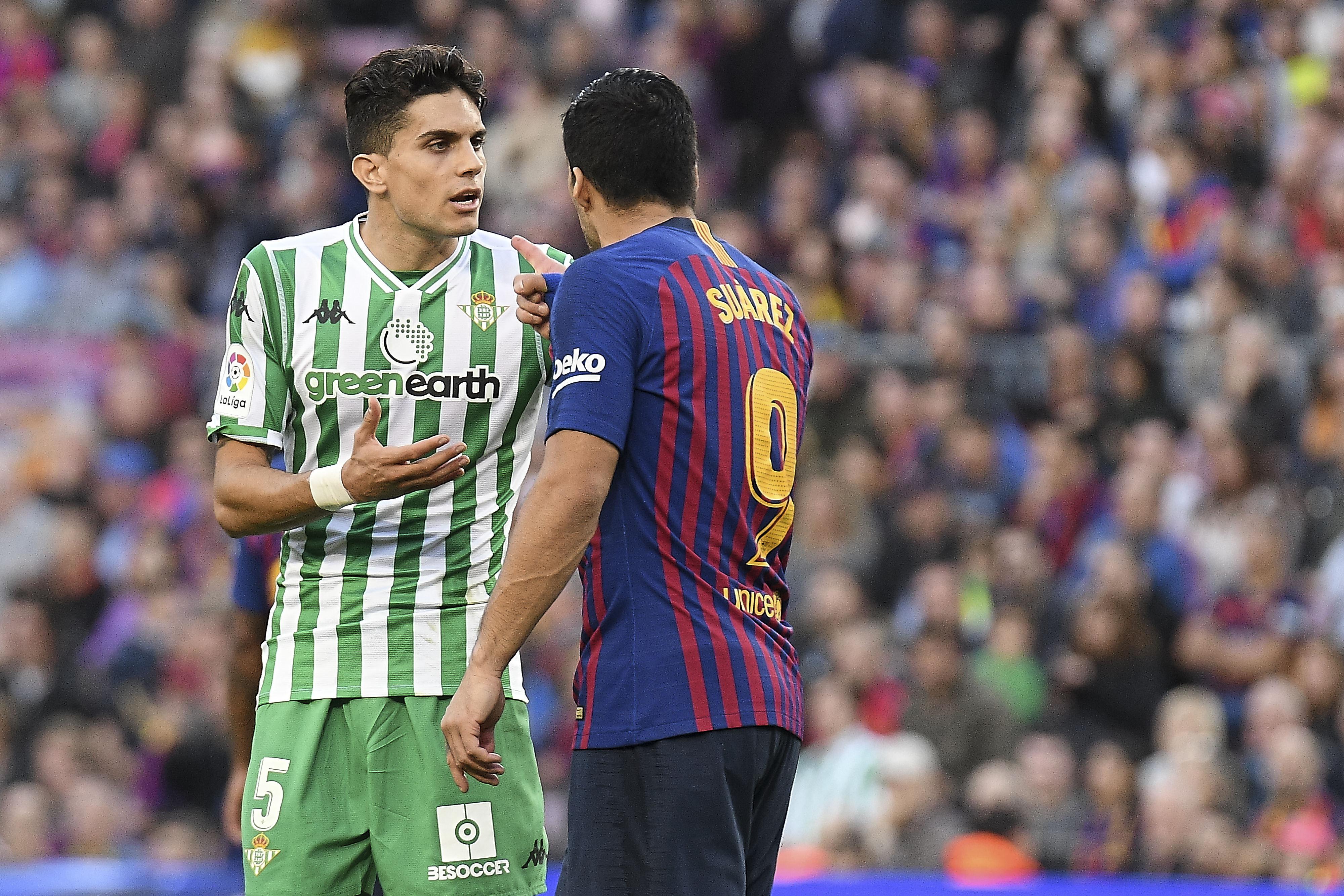 7ac6ea199 What A Furious Luis Suarez Said To Gerard Pique After Barcelona s ...
