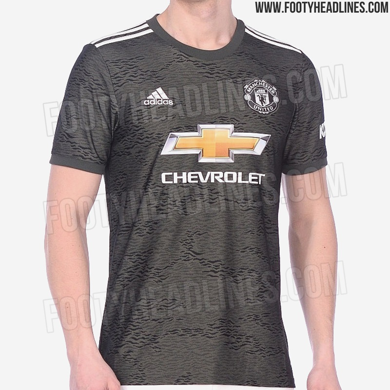 first images of manchester united s bizarre third kit for 2020 2021 season leaked sportbible sportbible