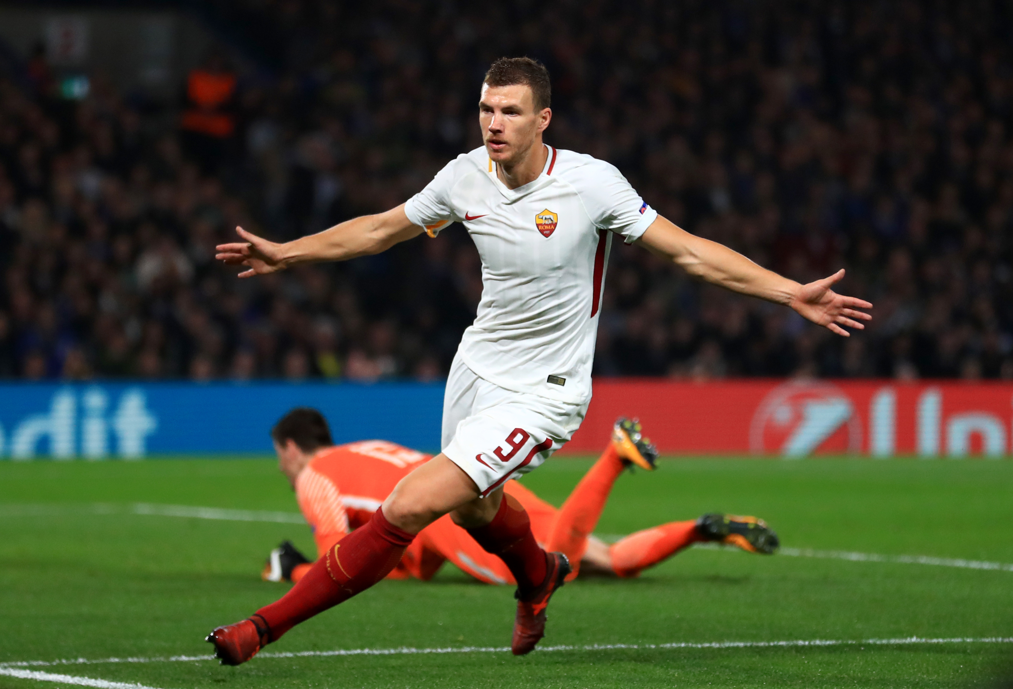 Chelsea Have Agreed A Deal To Sign Edin Dzeko From AS Roma