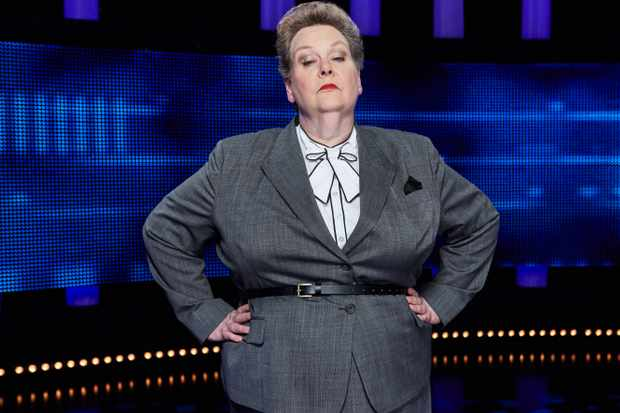 Anne Hegerty is known as 'The Governess' on ITV quiz show The Chase. Credit: ITV