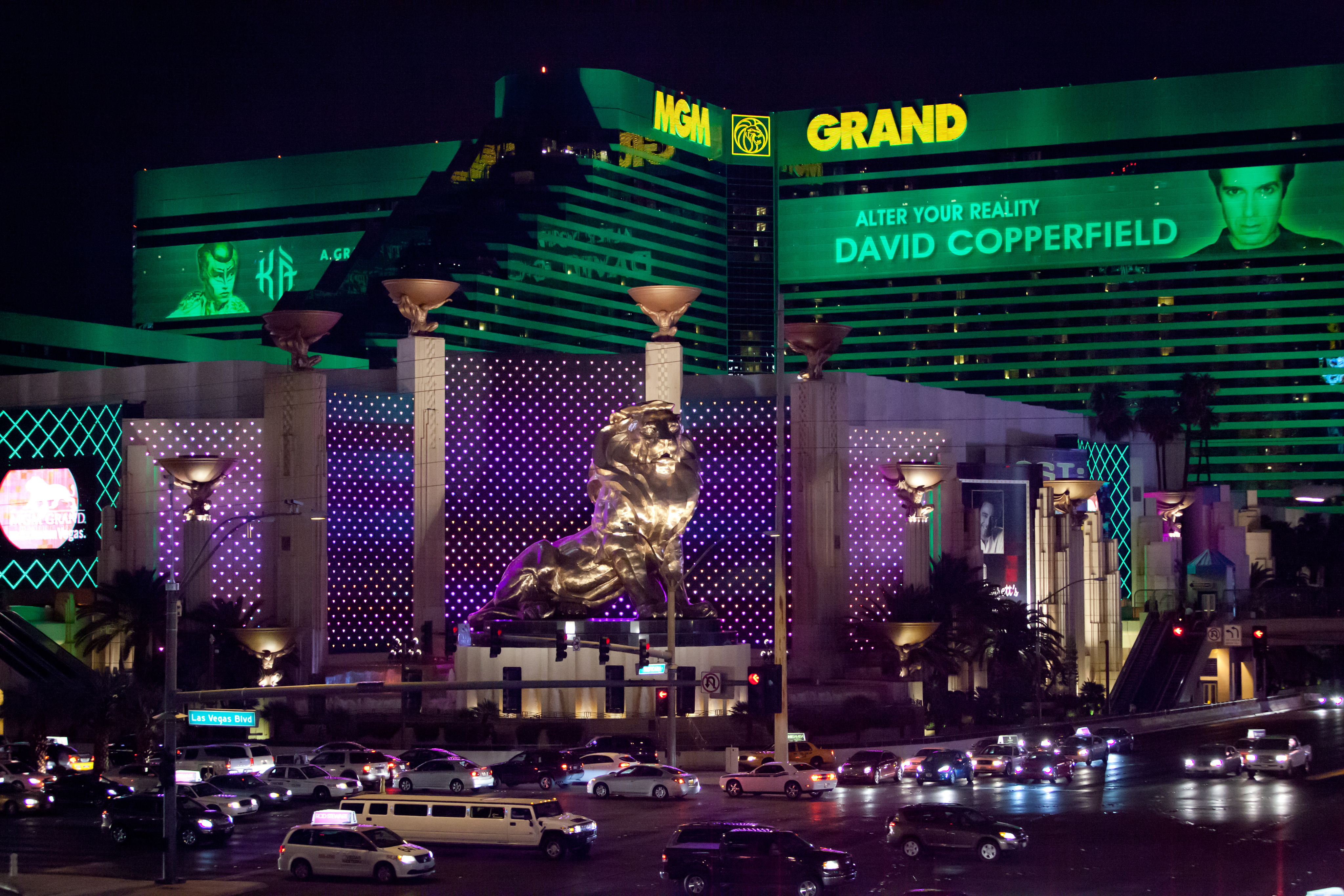 Las Vegas' MGM Grand is now off the table. Credit: PA