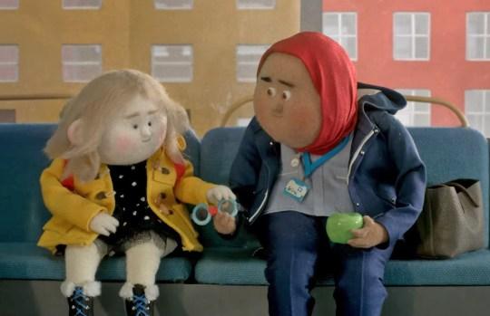 Celeste stars as John Lewis Christmas ad celebrates kindness