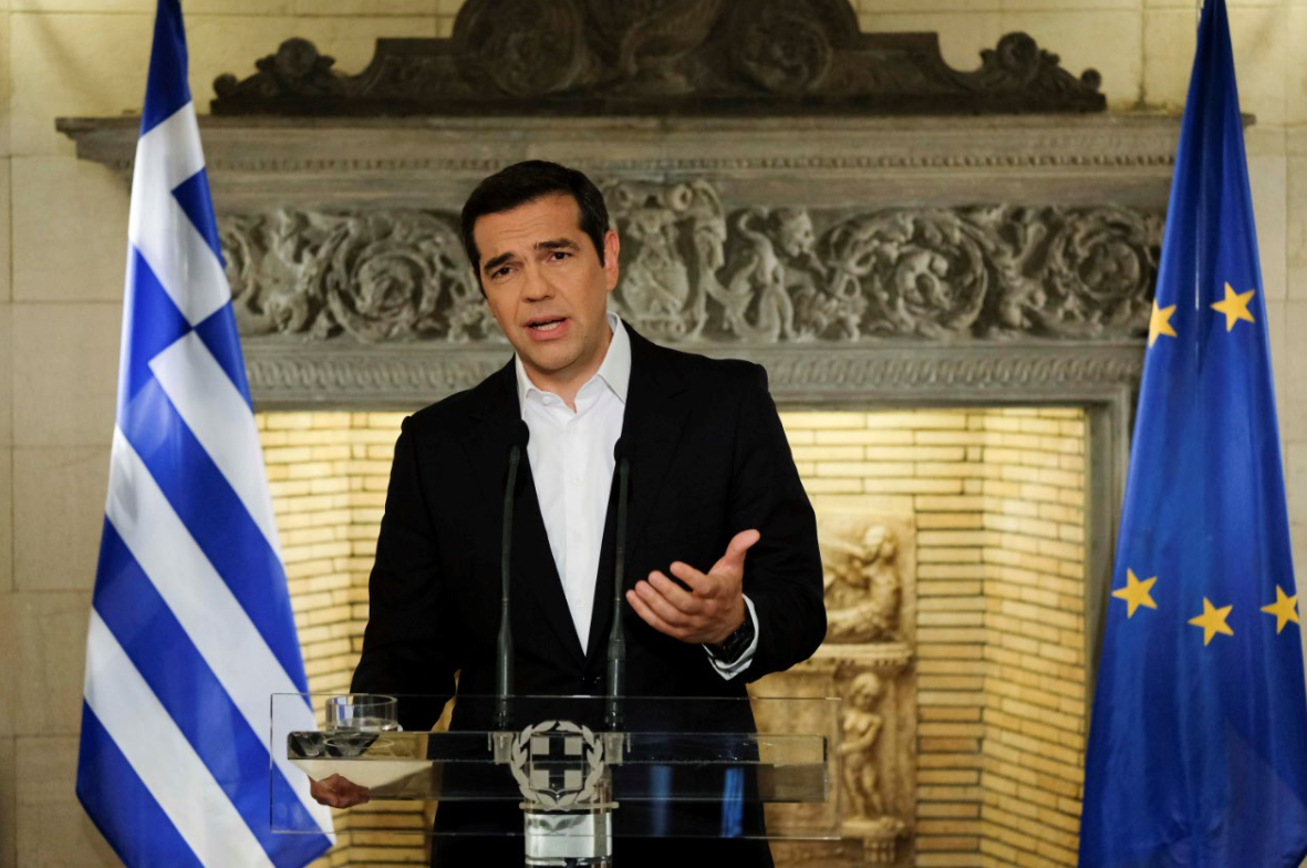 Greek Prime Minister Alexis Tsipras. Credit PA