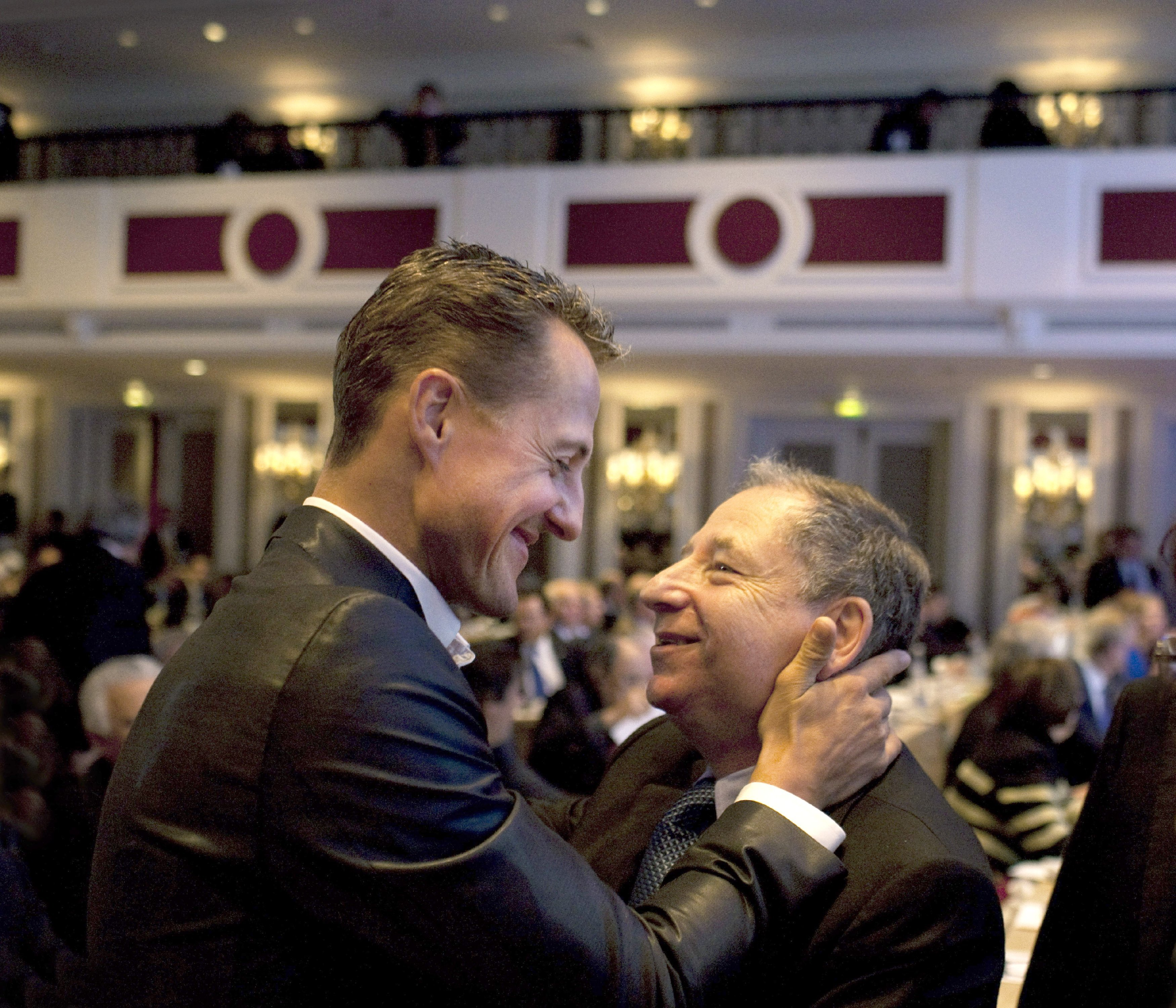 Todt said Schumacher 'keeps fighting' and watches Formula 1. Credit: PA