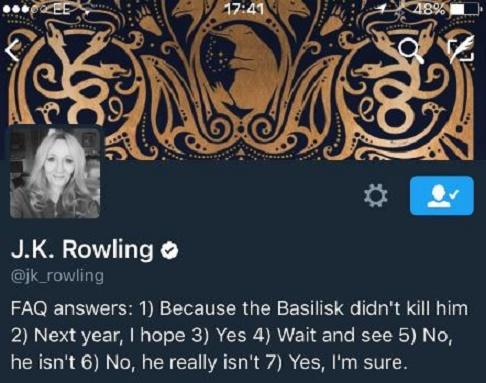 jk rowling bio