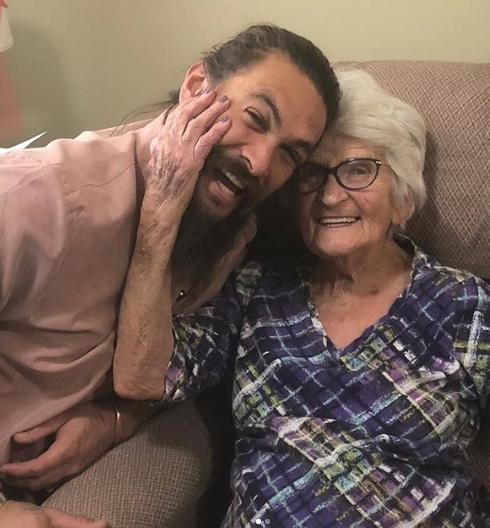 Jason Momoa S Cutest Dad Moments On Instagram: Jason Momoa's Photos With His Grandma Will Melt Your Heart
