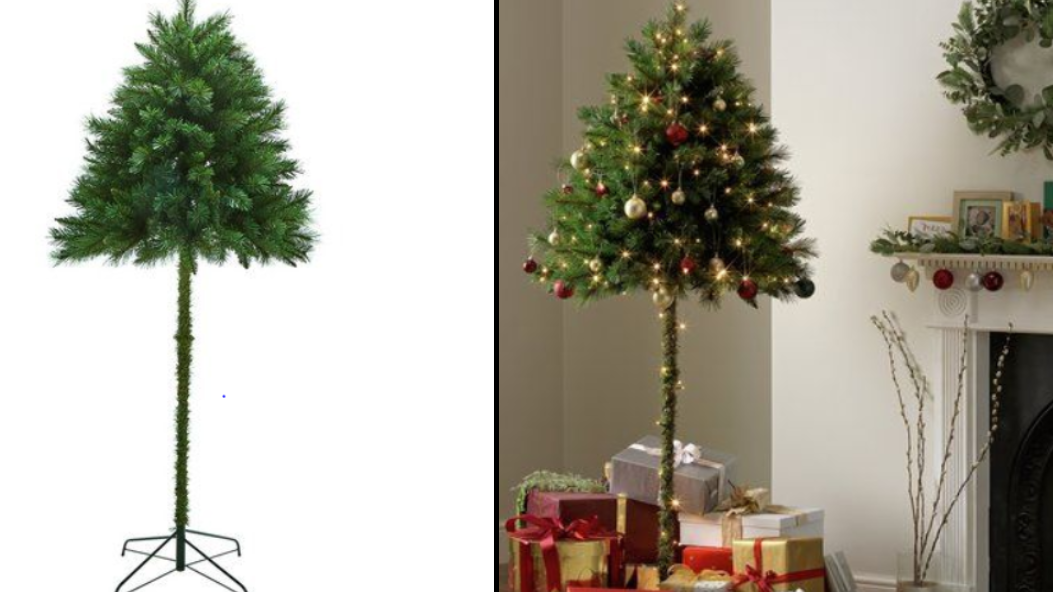 Christmas Tree Alternatives For Cat Owners.Argos Is Selling These Parasol Christmas Trees For Cat