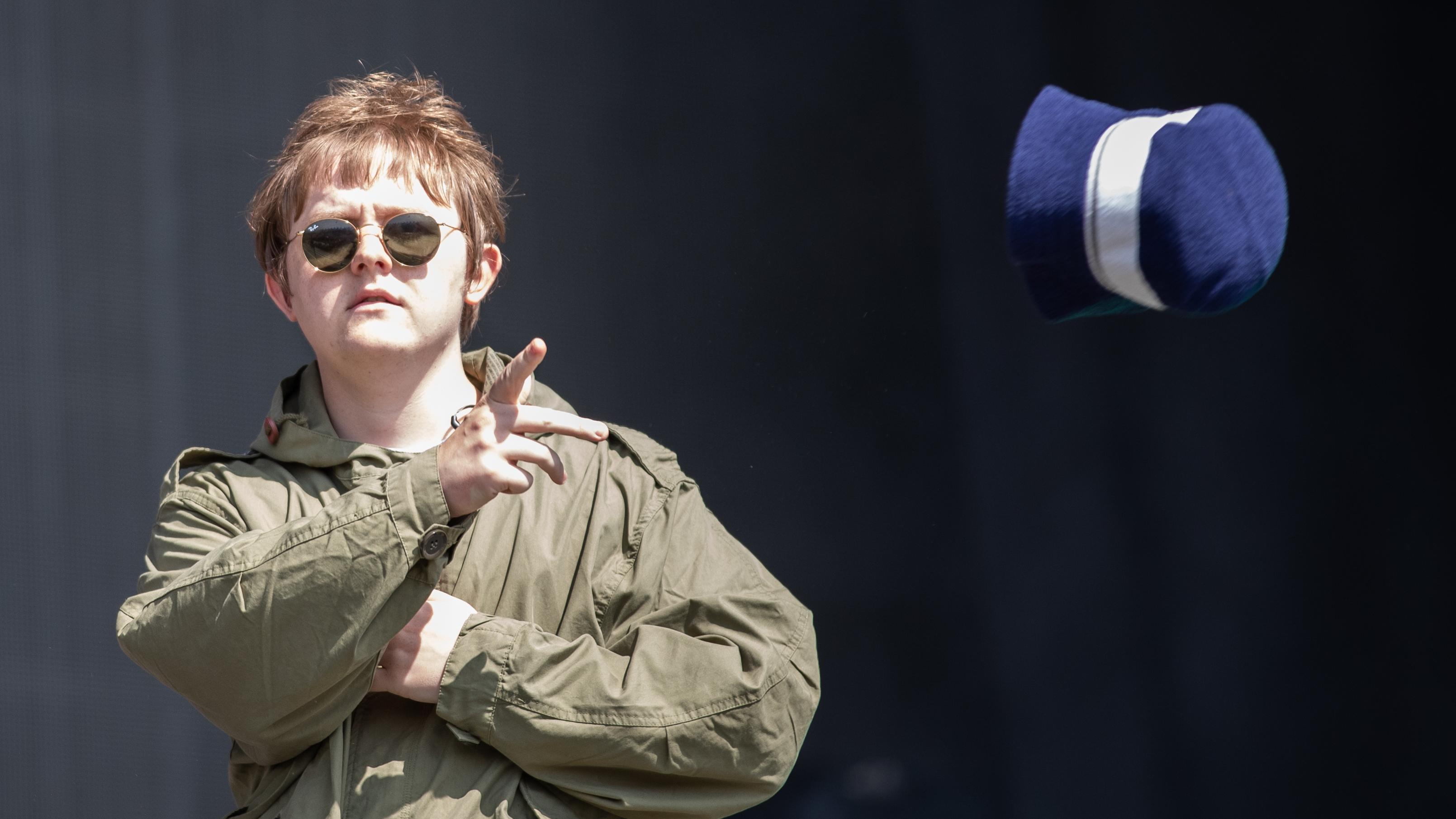 Lewis Capaldi Trolls Noel Gallagher During Intro To His Glastonbury Set. Credit: PA