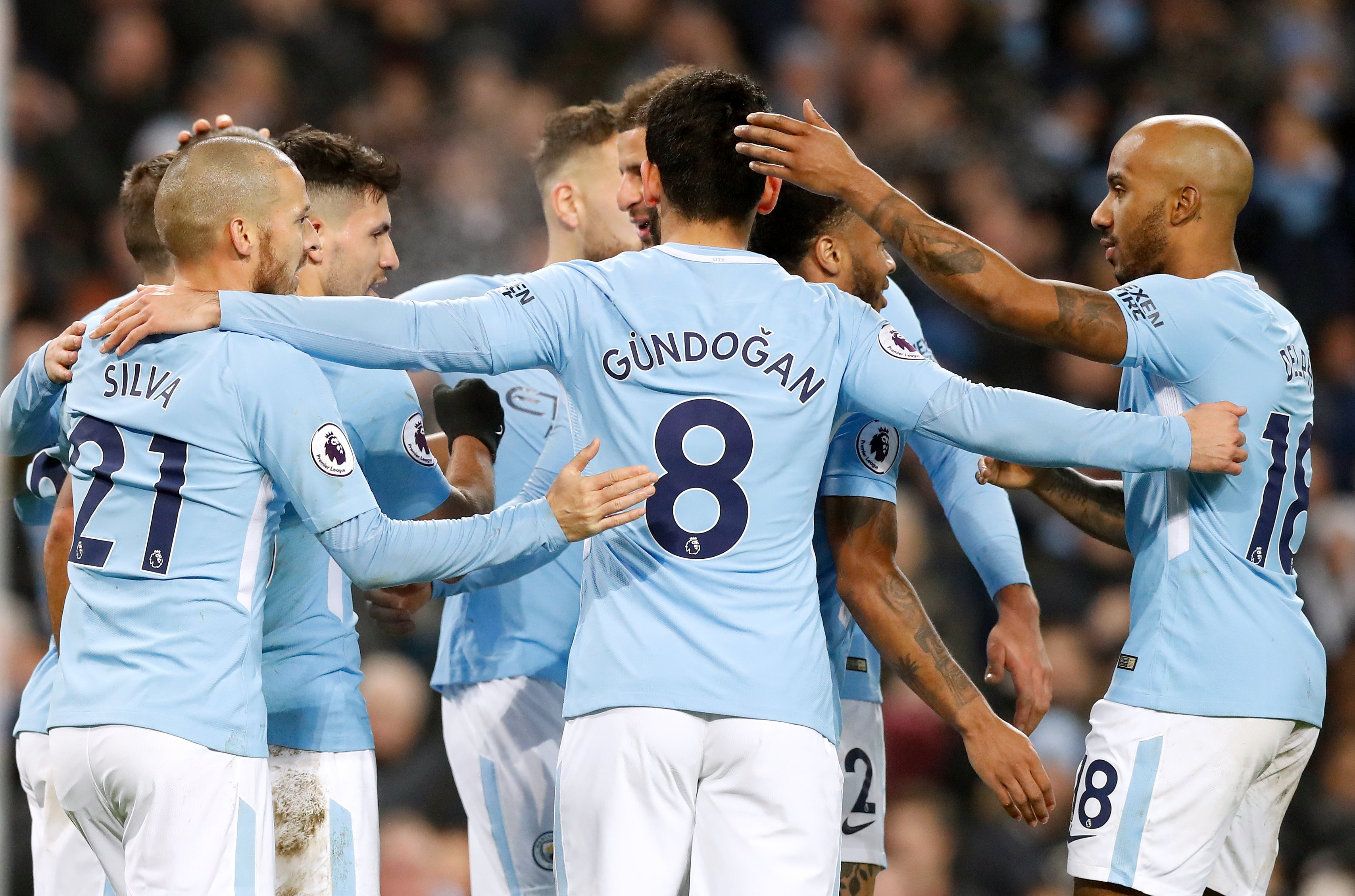 City's win on December 23rd put them 13 points above Manchester United. Image: PA Images.