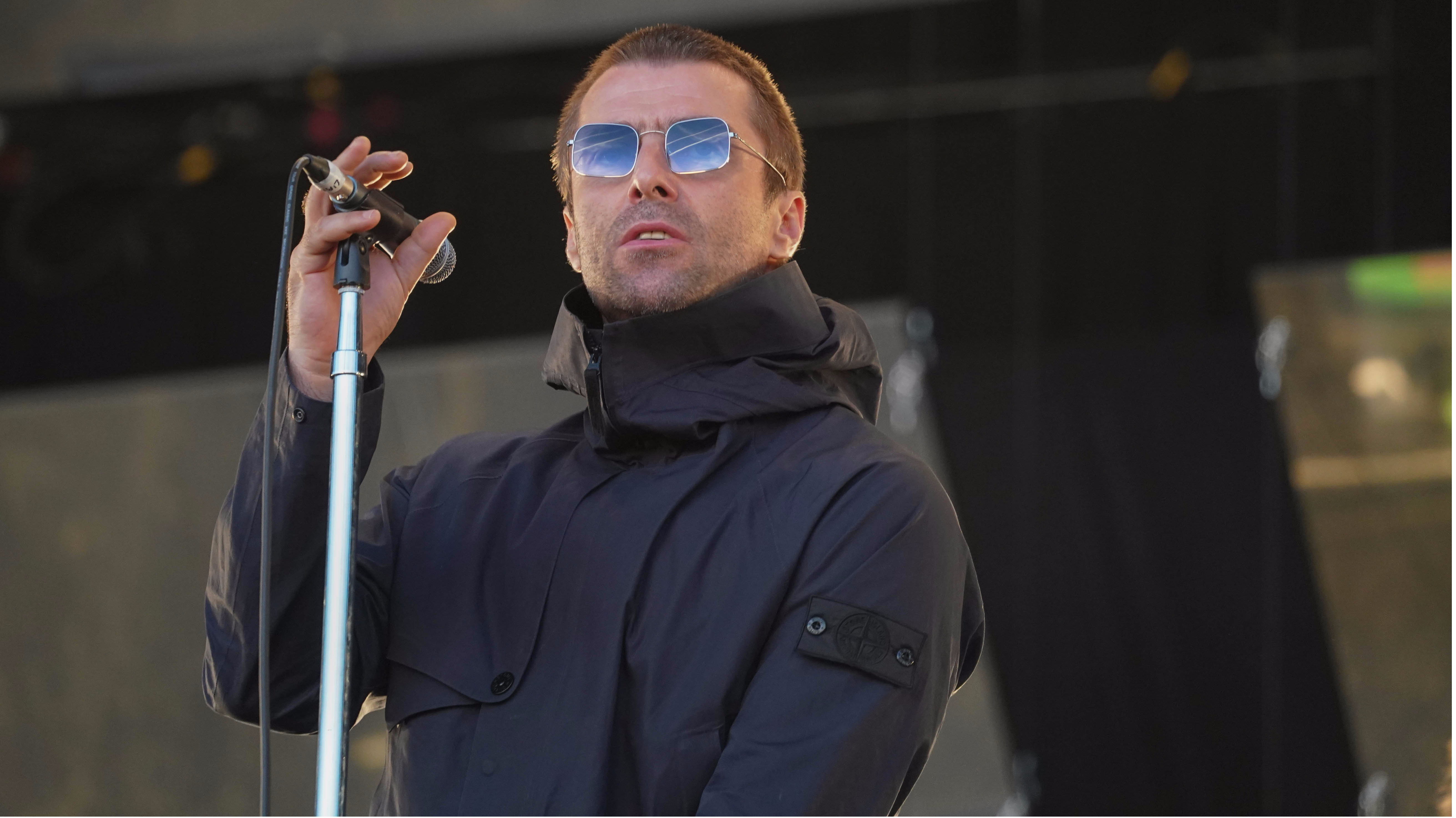 Liam Gallagher On Why He Wears A Parka At All Times, Even While Gardening
