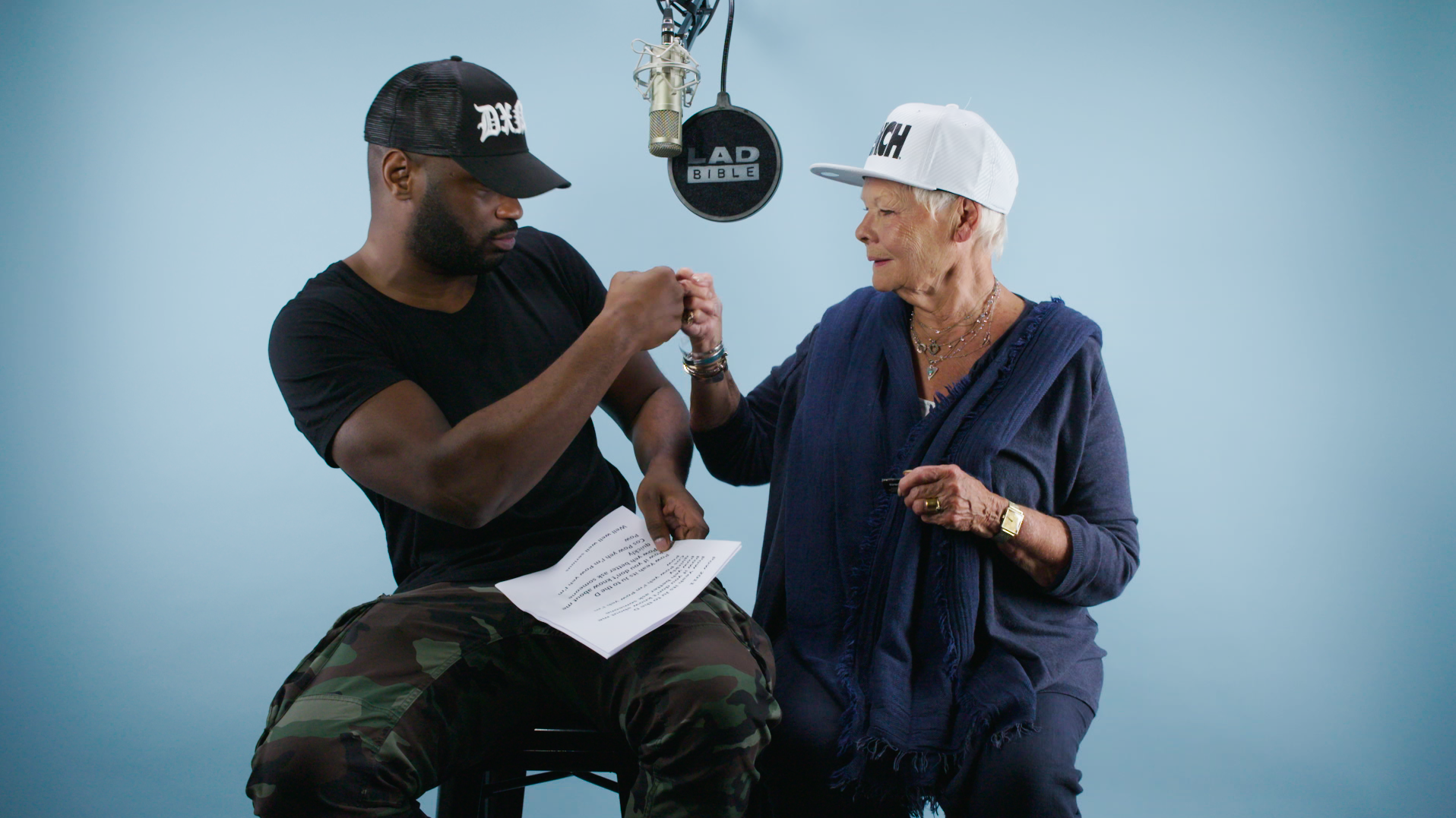 Lethal Bizzle Rapping With Dame Judi Dench Is The Best Thing You'll See All Day