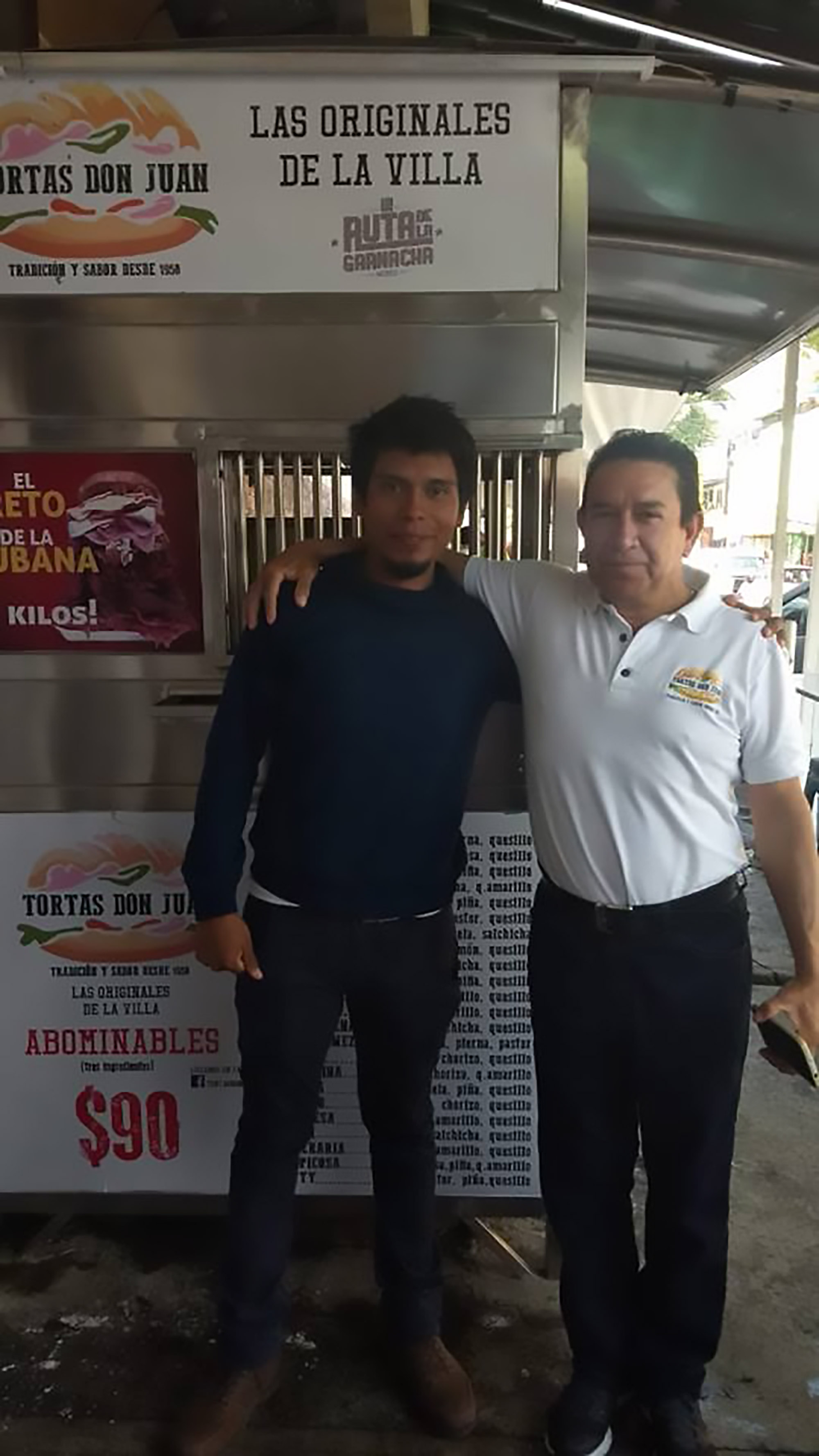 Luis Uriel is the only person in 50 years to complete the un-Godly challenge. Credit: CEN
