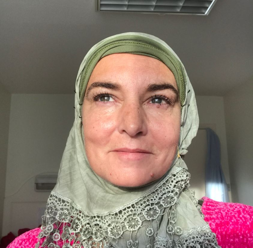 Sinead O'Connor Reveals She's Very Happily Converted To Islam