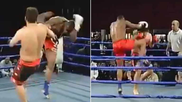Watch: Dillian Whyte Stops Opponent With A Brutal Knee In Muay Thai Fight