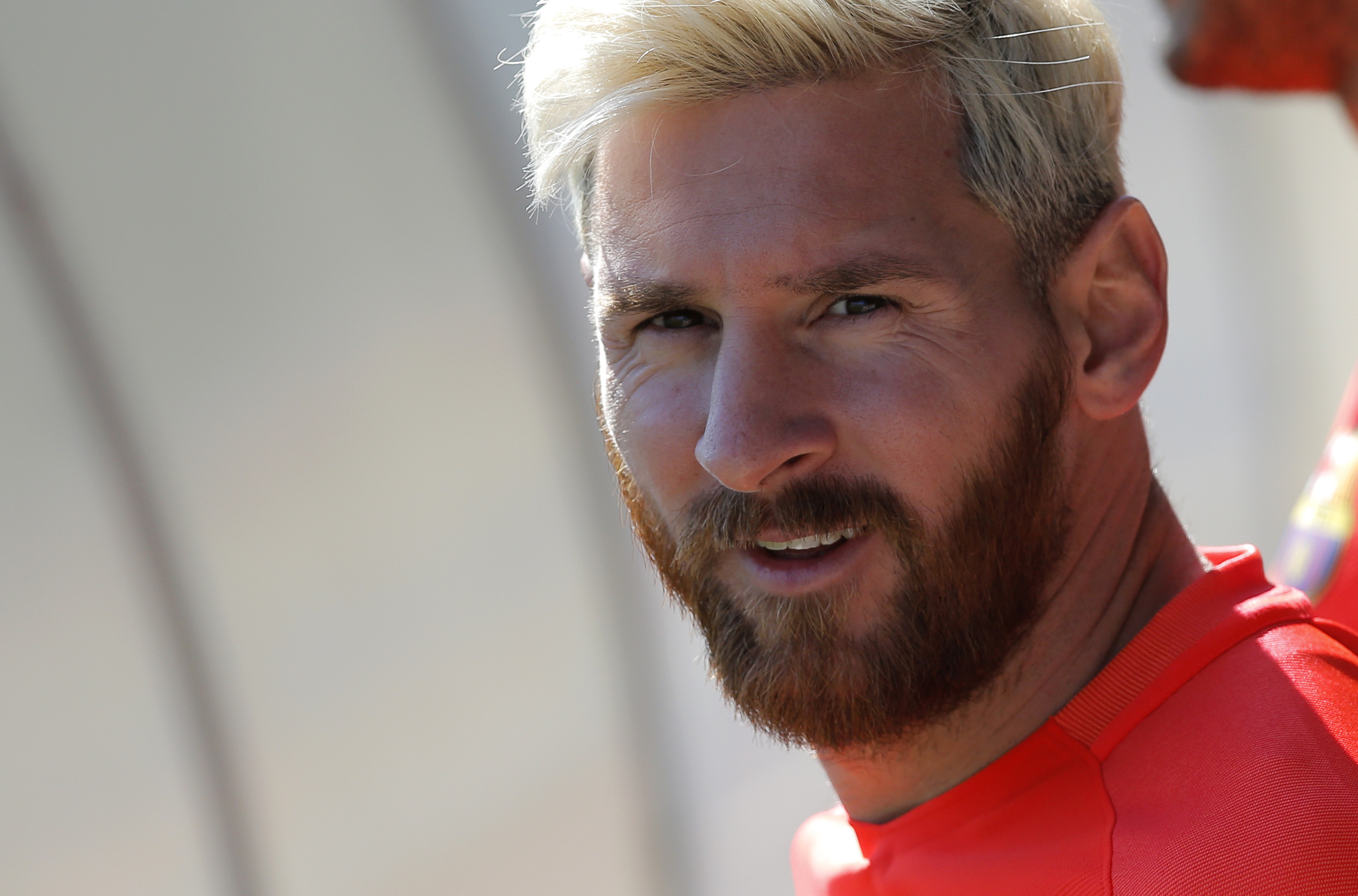 Lionel Messi Explains Why He Decided To Dye His Hair Sportbible