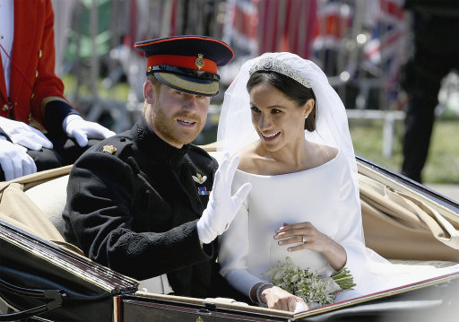 Meghan Markle's wedding dress designer shares behind-the-scenes details from the big day