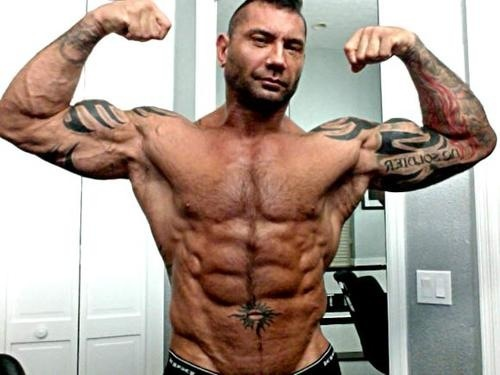 How Dave Bautista Went From A Big Brick Shithouse To Lean As Fuck