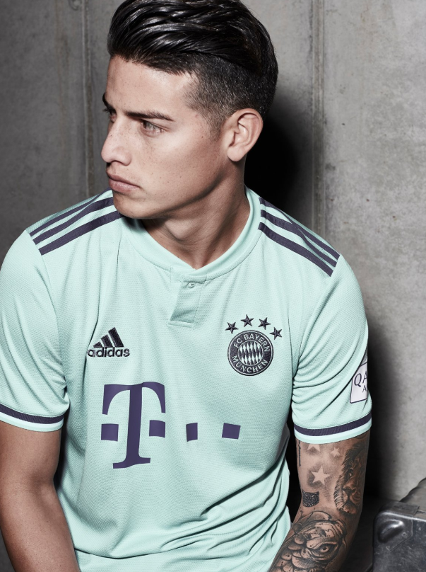 los angeles 47c61 6bc1b Bayern Munich Release New 'Ash Green' 2018/19 Away Kit And ...