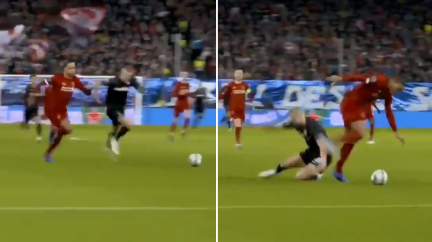 Alphonso Davies Registered A Speed Of 21 9mph Chasing Back Against Erling Haaland Sportbible