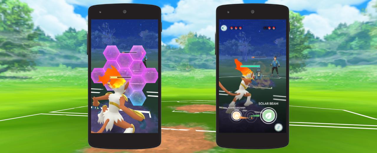 Pokémon Go Trainer Battles allow you to defend with shields. Credit: Niantic/The Pokémon Company