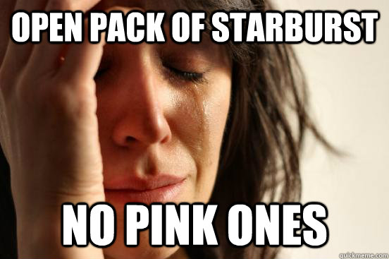 9990878958bf703f6285ff1943b5059e starburst is bringing out a pack of 'all pink' sweets ladbible,Pink Starburst Meme