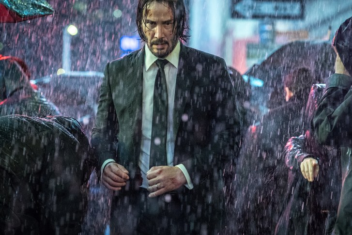 The third John Wick movie is out now. Credit: Lionsgate