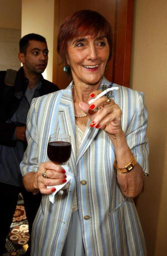 EastEnders actress June Brown says she won't give up alcohol and cigarettes. Credit: PA