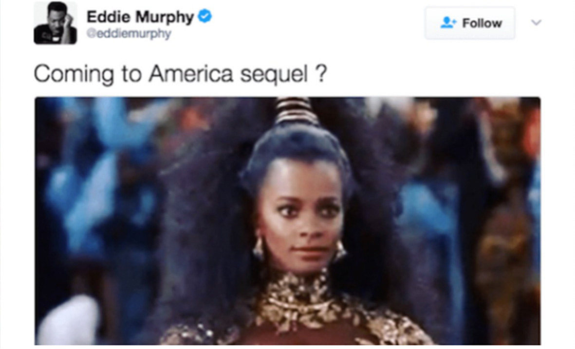 Eddie Murphy's 'Coming to America' Sequel Gets 2020 Release Date