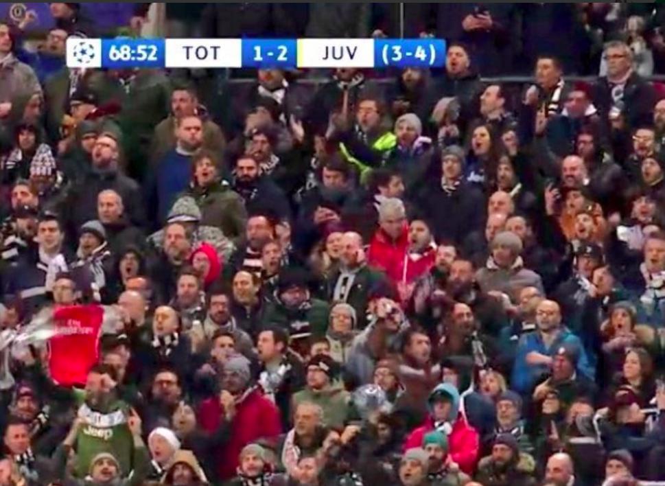 Champions League: Juventus secures Qualification as Spurs bottles again