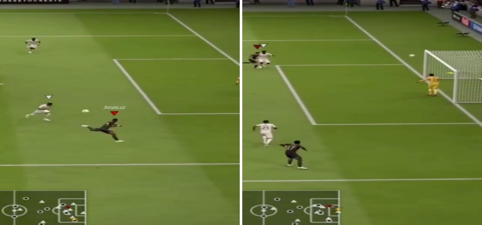 FIFA 19 Player Scores Most Outrageous Scorpion Kick With Ousmane Dembélé