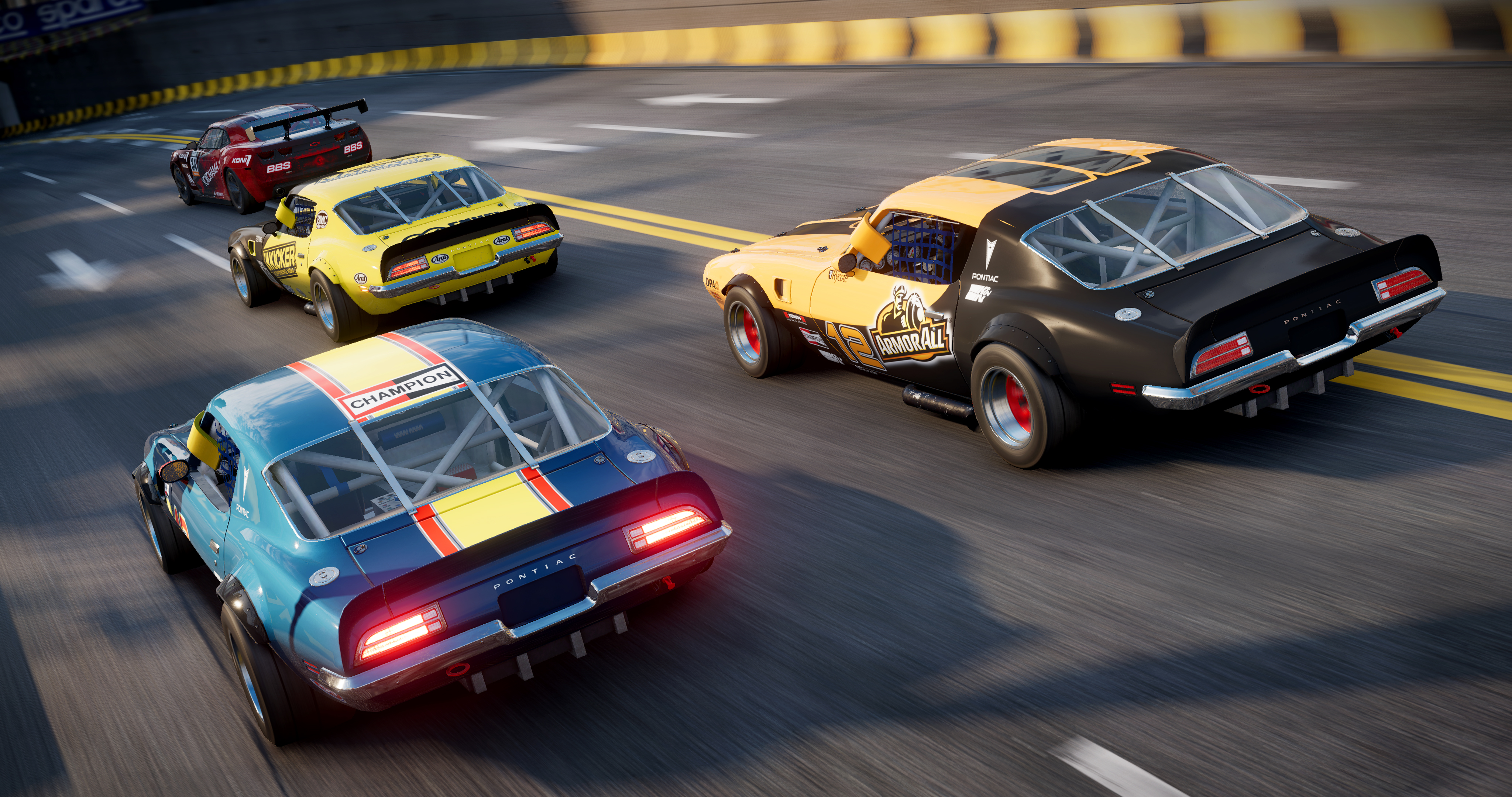 Muscle cars make a return, promising full-throated racing