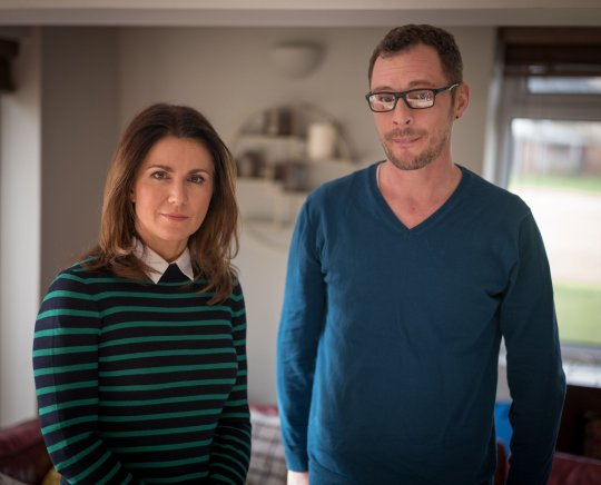Susanna Reid spoke to the father of Dennehy's two children, John Treanor. Credit: ITV