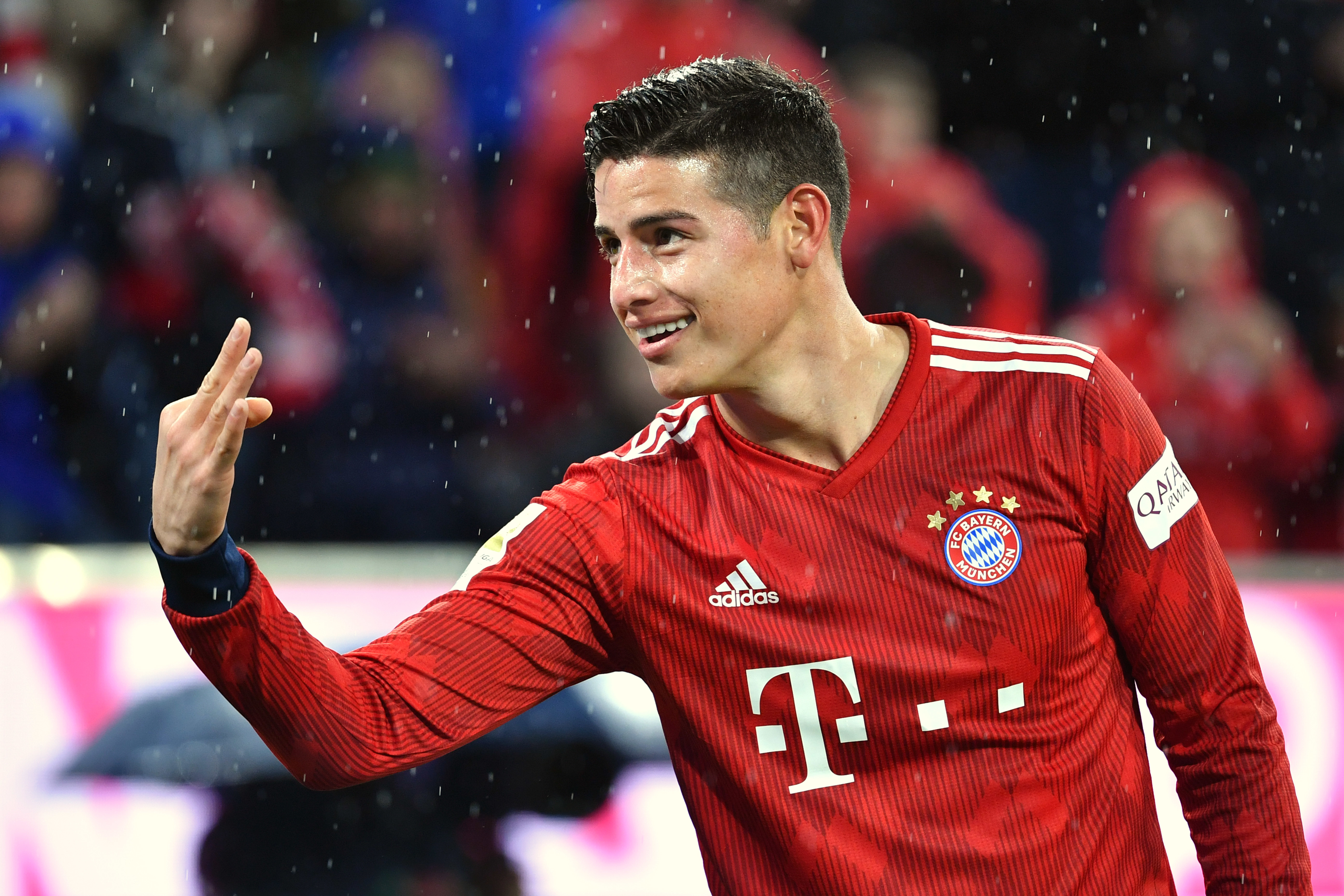 Rodriguez was unable to convince Bayern to sign him. Image: PA Images