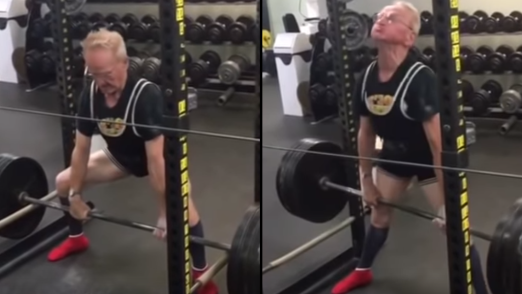 89-Year-Old Man Deadlifts 405lbs And Proves Age Is Just A