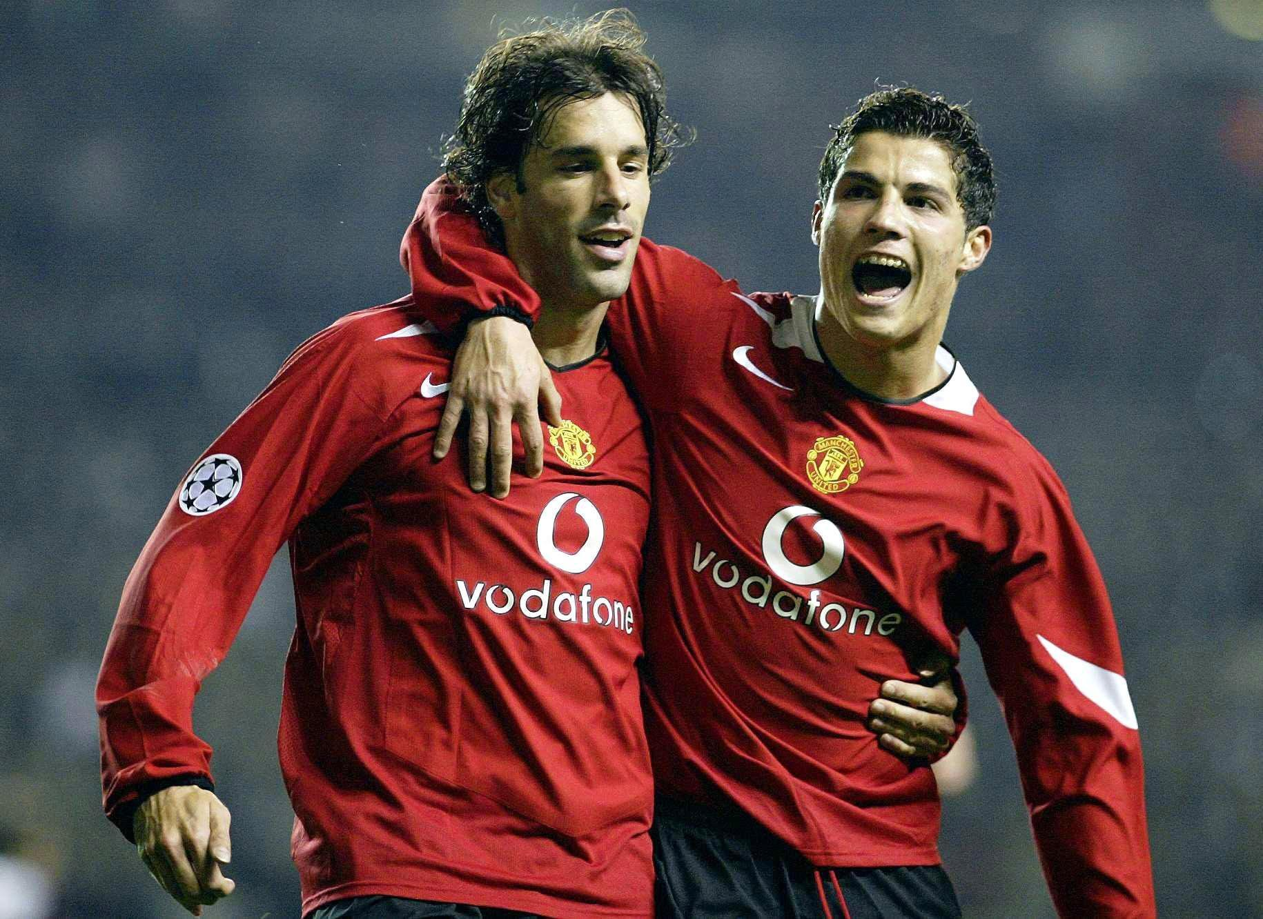 Ronaldo pushed Van Nistelrooy out of Manchester United and Real Madrid !