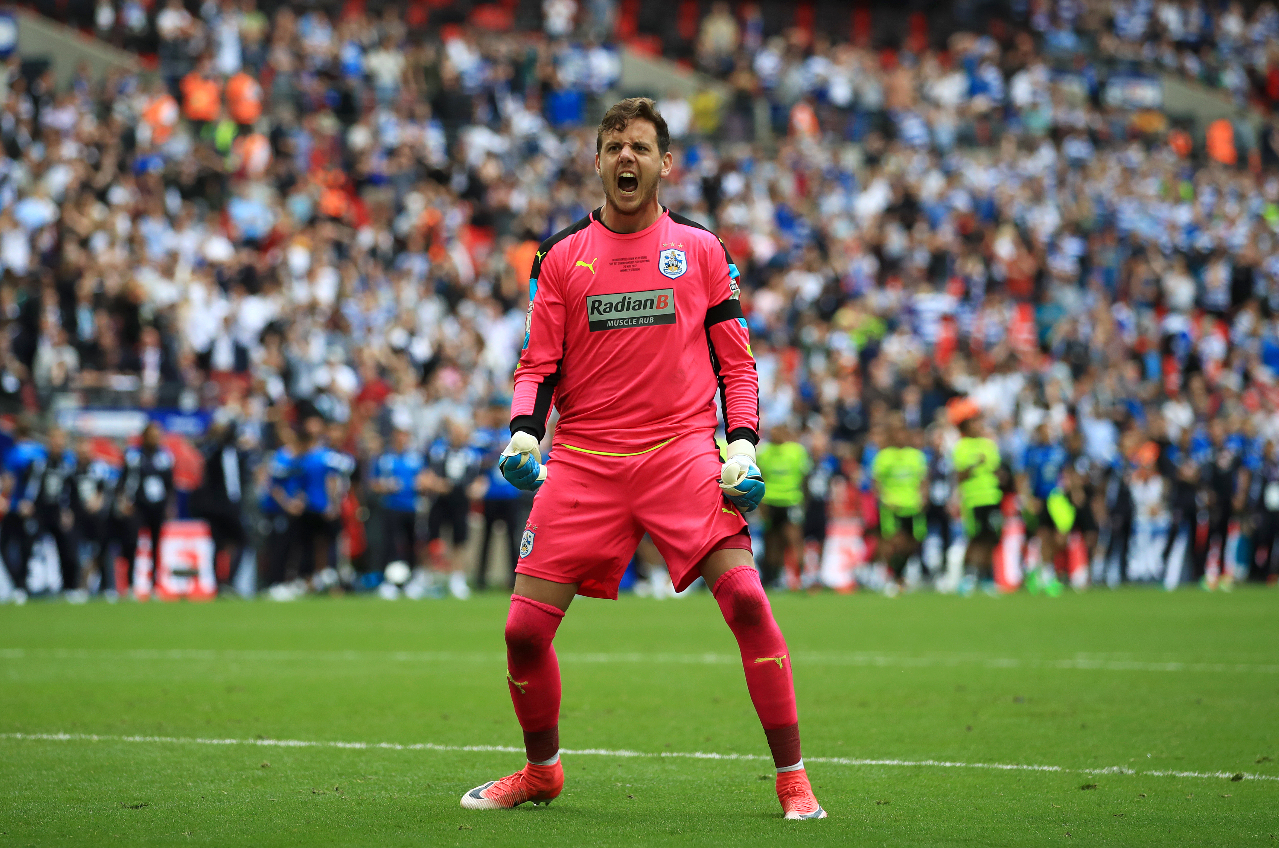 Ward's spell at Huddersfield Town helped the club win promotion to the Premier League. Image PA Images
