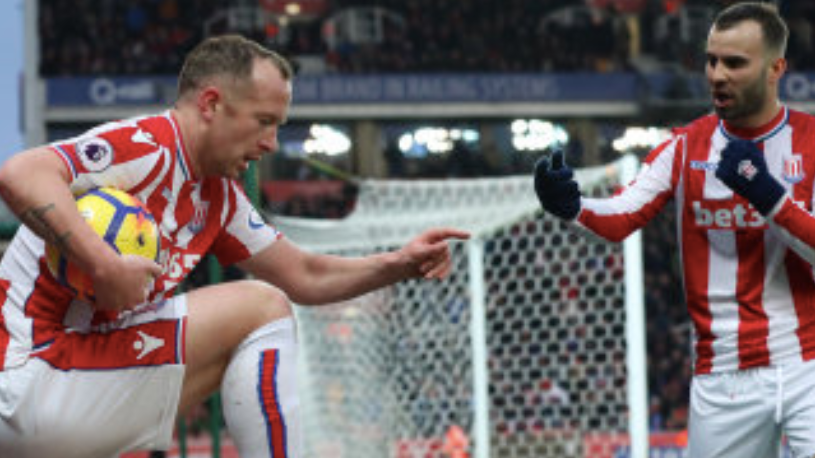 Stoke City's Jese Rodriguez Goes Berserk After He Wasn't Allowed To Take Penalty