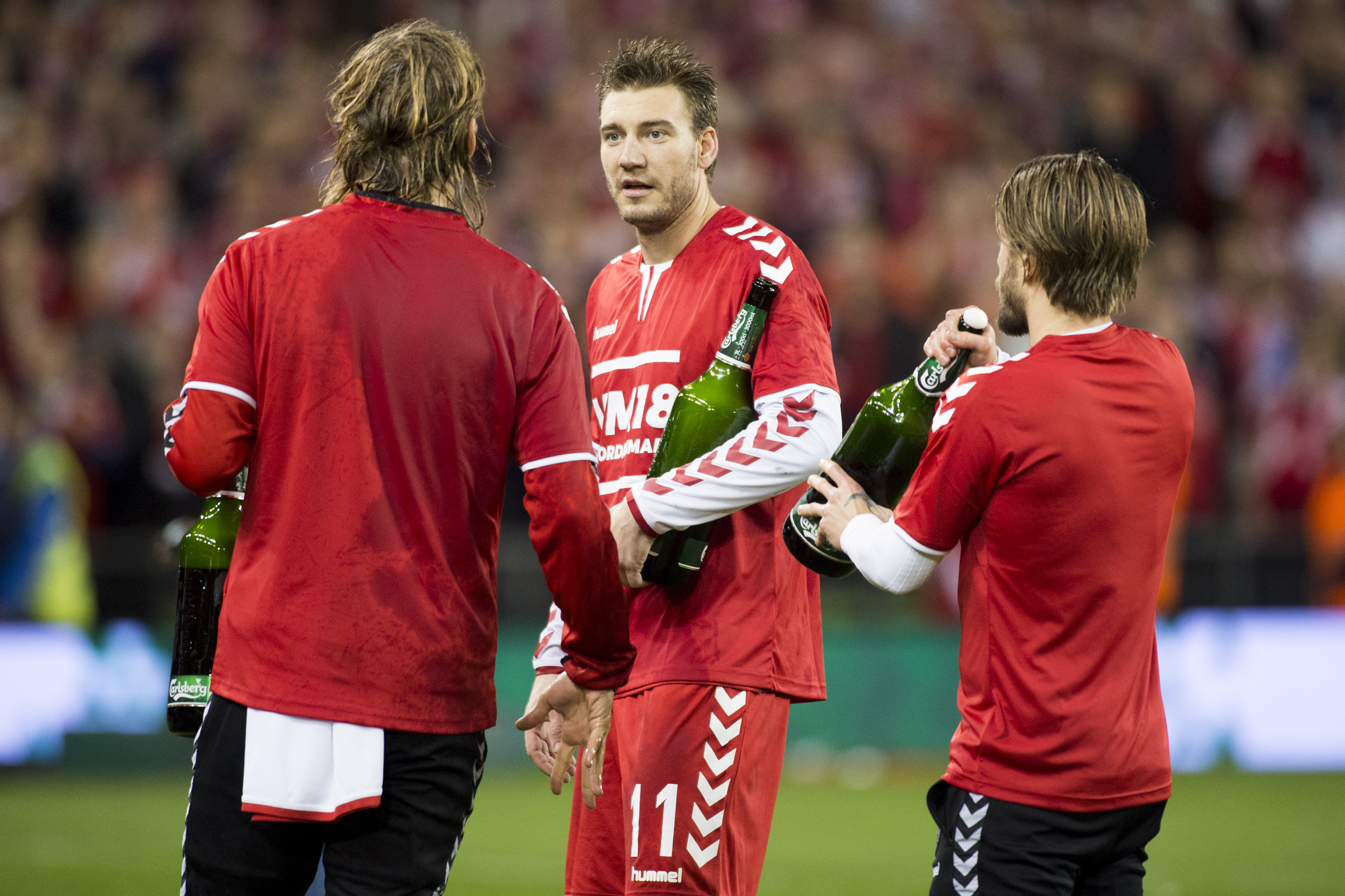 Nicklas Bendtner reportedly arrested after incident with taxi driver