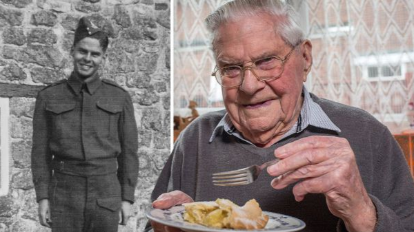 Meet The 100-Year-Old Who Puts His Long Life Down To Never Skipping Dessert